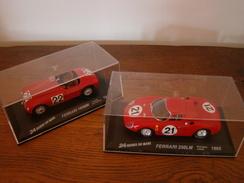 Superbe Voitures Collections FERRARI 250 LM De 1965 + FERRARI 166 MM De 1949 Neuves Départ Vente 12.00 Euros - Carros