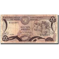 Chypre, 1 Pound, 1979, 1979-06-01, KM:46, B - Chypre