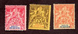 Bénin N°29,30,31 N* TB Cote 26 Euros !!! - Bénin (1892-1894)