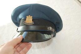 CASQUETTE POLICIER AGENT DE TRAFFIC D AFIQUE DU SUD - Police