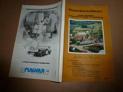 Bulletin 1975  Association Amicale Des Anciens Elèves De L'Ecole Nationale D'Industrie Laitière De MAMIROLLE - Organizations