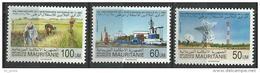 "Mauritanie YT 651 à 653 "" Indépendance "" 1991 Neuf** - Mauretanien (1960-...)"