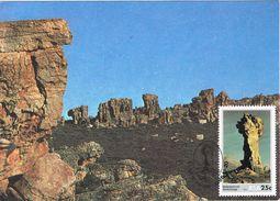 25456. Tarjeta Maxima R.S.A.  South Africa, Clanwilliams 1986. Malteserkruis - África Del Sur (1961-...)