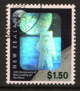 New Zealand 1994 25th Anniversary Of First Man On The Moon Used (SG 1818) - New Zealand