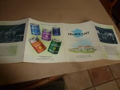 1957 FRANCE-LAIT Vous Présente Ses Usines Les Plus Modernes D'Europe - Publicité