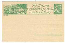 Suisse // Schweiz // Switzerland // Entiers Postaux // Entier Postal Neuf, Avec Image De Bad Ragaz - Stamped Stationery