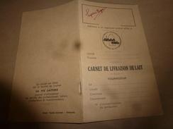 1957  CARNET De LIVRAISON Du LAIT  (vierge) - Frankreich