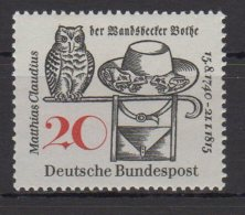 BRD  / 150. Todestag Von Matthias Claudius (1740-1815) Dichter /  MiNr.:  462 - BRD
