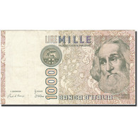 Italie, 1000 Lire, 1982-1983, KM:109a, 1982-01-06, TTB - [ 2] 1946-… : République