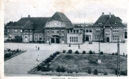 N°54727 -cpa Saarlouis -Bahnhof- - Kreis Saarlouis