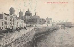 CPA - Espagne - CADIZ - Abside De La Catedral - écrite - Animée. - Cádiz