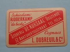 """Stokerij """" De KURSAAL """" Oostende / RUITEN 6 ( Zie Foto´s Voor En Achter ) !! - Playing Cards (classic)"""
