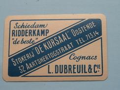 """Stokerij """" De KURSAAL """" Oostende / KLAVEREN 9 ( Zie Foto´s Voor En Achter ) !! - Playing Cards (classic)"""