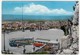 VICENZA - PIAZZALE DELLA VITTORIA - 1961 - BUS - AUTOBUS & PULLMAN - Autobus & Pullman