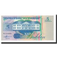 Surinam, 5 Gulden, 1991-07-09, KM:136a, NEUF - Surinam