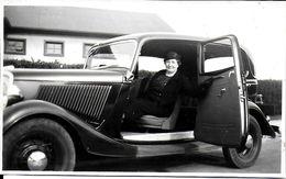 """PHOTO PHOTOGRAPHIE MAR DEL PLATA ARGENTINE  AUTO AUTOMOBILE """"LA TITINE ET SA PATRONNE"""" - Lieux"""