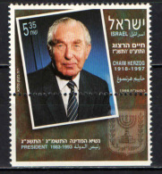 ISRAELE - 1998 - Chaim Herzog (1918-97) - President Of Israel - NUOVO MNH - Israele