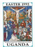 1992 Uganda Easter Art Paintings  Complete Set Of 8 + 2 Souvenir Sheets MNH - Uganda (1962-...)