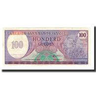 Surinam, 100 Gulden, 1985-11-01, KM:128b, NEUF - Surinam