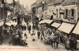 HAM   Fêtes Des 21, 22 Et 23 Juin 1913 Calvacade - Ham