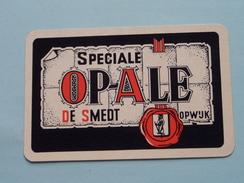 Speciale OP-ALE De Smedt OPWIJK / KLAVEREN 7 ( Zie Foto´s Voor En Achter ) ! - Playing Cards (classic)