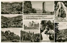 Grüsse Aus Der Fünftälerstadt Schramberg - Mehrbildkarte (001382) - Schramberg