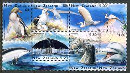 New Zealand 1996 Marine Wildlife Block Used (SG 1992a) - Nuova Zelanda