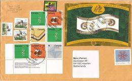 Canada 2014 Victoria Snake Lunar Year Geography Geology Cartography Photogrammetry Owl Bee Cover - 1952-.... Regering Van Elizabeth II