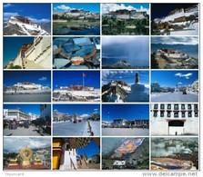 20 Postcards Of Tibet Scenery ,  Postkarte Carte Postale - Photographie