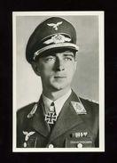 Um 1941 2.WK Photo Hoffmann Postkarte Oberst Mölders Luftwaffe - Deutschland