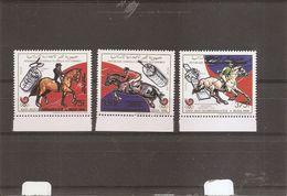 JO De Séoul -1988-Hippisme ( 496/498 XXX -MNH- Des Comores) - Ete 1988: Séoul