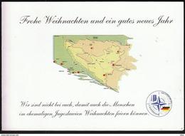Feldpost SFOR NATO 5. Deutsches Heereskontigent Joint Forge / Bosnia And Herzegovina / Rajlovac / Christmas, Weihnachten - Kerstmis