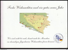 Feldpost SFOR NATO 5. Deutsches Heereskontigent Joint Forge / Bosnia And Herzegovina / Rajlovac / Christmas, Weihnachten - Autres