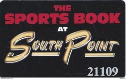 South Point Casino - Las Vegas, NV - Sports Book Slot Card - Casino Cards