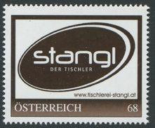 ÖSTERREICH / 8123723 / Stangl - Der Tischler / 2. Auflage / Postfrisch / ** / MNH - Personalisierte Briefmarken