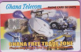Télécarte Ghana °° Nc - Free Trade Zone - Sc7 - 4151 - 12 2000 - Ghana