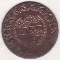 Empire Ottoman. 2 1/2 Piastres (100 Para) HA 1223  Year 25. Mahmud II .km# 590 - Turquie