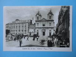 Portici - Piazza S San Ciro - Albori Del XX Secolo - Riproduzione - Portici
