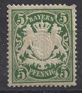 Bayern 1890 (**) MNH Mi.61 Y - Bavaria