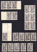 France 1943 Dunkerque-Lorient-St. Nazaire-Billancourt 1x 21x ** Mnh (36726) - Frankrijk