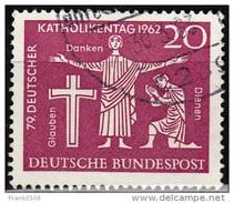 Germany 1962, 79th Meeting Of German Catholics, 20pf, Used - [7] Federal Republic