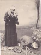 TAVOLA -  PRIERE ARABE - PREGHIERA ARABA - ANNO. 1921 - Cartoline
