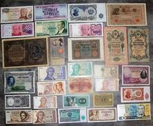 LOT De 30 BILLETS Du MONDE Tous Différents - N°3 - Monnaies & Billets
