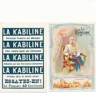 LA KABILINE - Roi François Joseph - Trade Cards