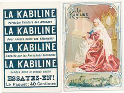 LA KABILINE - Reine Victoria, Windsor - Trade Cards