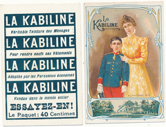 LA KABILINE - Roi Alphonse XIII - Trade Cards