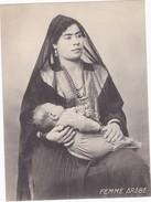 TAVOLA -   FEMME ARABE  - DONNA ARABA - Cartoline