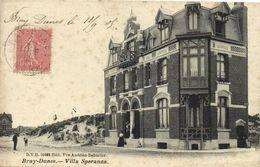 BRAY DUNES  Villa Speranza  Recto Verso - Bray-Dunes