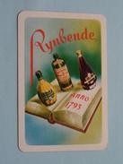 RYNBENDE Anno 1793 / HARTEN 3 ( Zie Foto´s Voor En Achter ) !! - Playing Cards (classic)