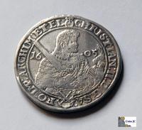 German States - Taler -Saxony - 1605 - Taler Et Doppeltaler